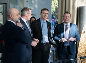 Balti riigid Visegradi riigid välisministrid kohtumine Palanga