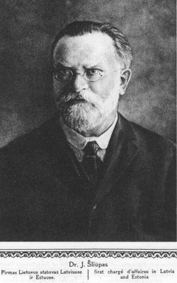 """Jonas Šliūpas. Foto: """"Lietuvos Albumas"""" (1921)"""