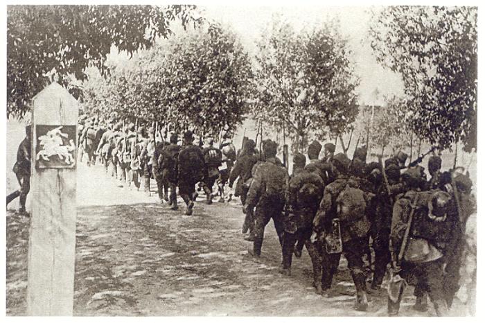 Punaarmee sisenemine Leetu. Foto: Leedu parlament