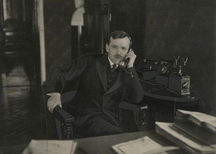 Jaan Lattik sellest ajast, kui ta oli välisminister 1928-1931. Foto: Rahvusarhiiv
