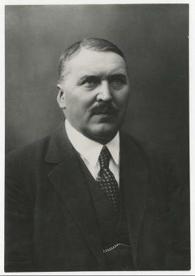 Leedu-Eesti Ühing – Ühingu esimeheks oli Jonas Vileišis (Kaunase linnapea 1921-1931, jurist, poliitik ja diplomaat). Foto: Rahvusarhiiv